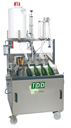 Disgorging machine DDV ECO for sparkling wines