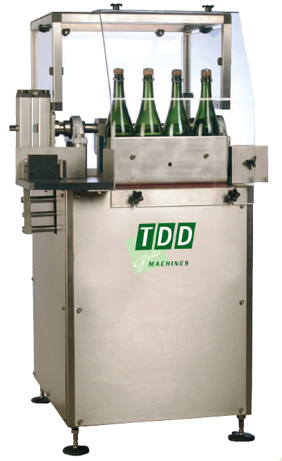 Semi automatic blending machine for sparkling wines