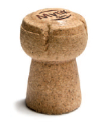 Mytic Cork for sparkling wines